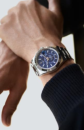 selección de relojes rolex masculinos